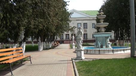 центральная площадка парка